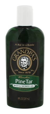 Grandpa's Soap Co. - Pine Tar Bath & Shower Gel - 8 oz.