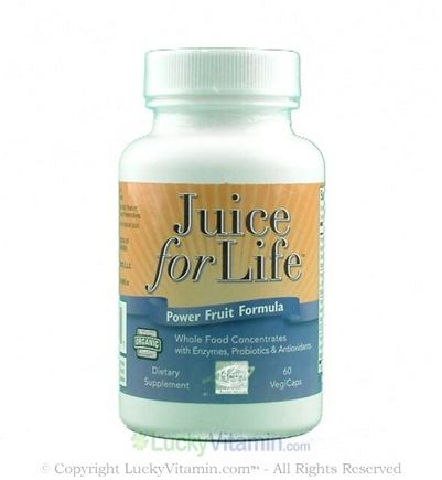 DROPPED: Hero Nutritionals Products - Juice for Life Power Fruit Formula - 60 Vegetarian Capsules