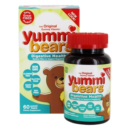 Hero Nutritionals Products - Yummi Bears Fiber - 60 Gummies