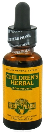 DROPPED: Herb Pharm - Children's Herbal Compound - 1 oz. CLEARANCE PRICED