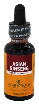 Herb Pharm - Asian Ginseng Extract - 1 oz.
