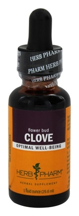 Herb Pharm - Clove Extract - 1 oz.