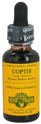 DROPPED: Herb Pharm - Coptis Extract - 1 oz. CLEARANCE PRICED