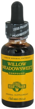 DROPPED: Herb Pharm - Willow Meadowsweet Compound - 1 oz. CLEARANCE PRICED