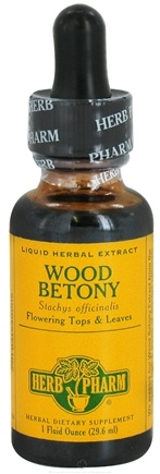 DROPPED: Herb Pharm - Wood Betony Extract - 1 oz. CLEARANCE PRICED