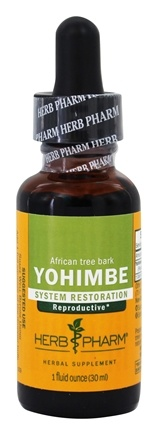 DROPPED: Herb Pharm - Yohimbe Extract - 1 oz. CLEARANCE PRICED