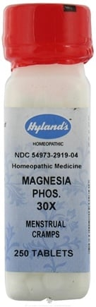 DROPPED: Hylands - Magnesia Phosphorica 30 X - 250 Tablets
