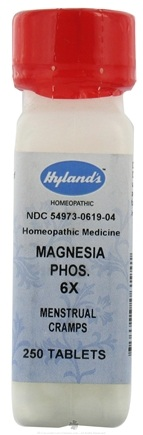 DROPPED: Hylands - Magnesia Phosphorica 6 X - 250 Tablets CLEARANCE PRICED