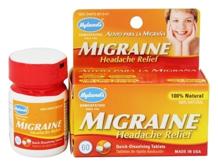 Hylands - Migraine Headache Relief - 60 Tablets