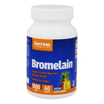 Jarrow Formulas - Bromelain 1000 500 mg. - 60 Tablets