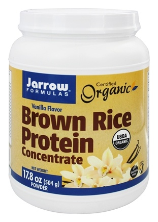 Jarrow Formulas - Brown Rice Protein Powder Vanilla - 1.1 lbs.