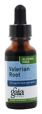 Gaia Herbs - Valerian Root Alcohol Free - 1 oz.