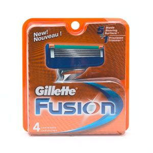 DROPPED: Gillette - Fusion Manual Razor Replacement Blades - 4 Pack(s)
