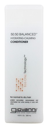 Giovanni - Conditioner 50:50 Balanced Hydrating-Calming For Normal To Dry Hair - 8.5 oz.