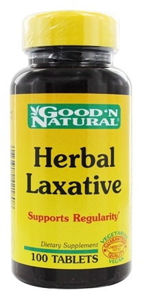 DROPPED: Good 'N Natural - Herbal Laxative - 100 Tablets