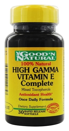 Good 'N Natural - High Gamma Vitamin E Complete - 30 Softgels