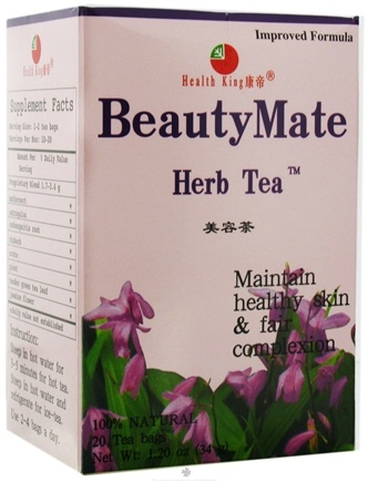 DROPPED: Health King - BeautyMate Herb Tea - 20 Tea Bags CLEARANCE PRICED