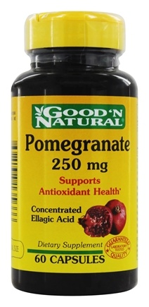 Good 'N Natural - Pomegranate 250 mg. - 60 Capsules