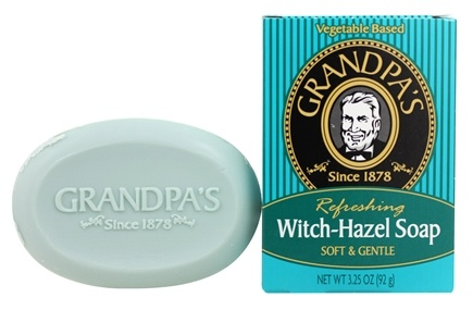 Grandpa's Soap Co. - Refreshing Witch Hazel Soap Soft & Gentle - 3.25 oz.