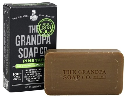 Grandpa's Soap Co. - Wonder Pine Tar Soap - 3.25 oz.