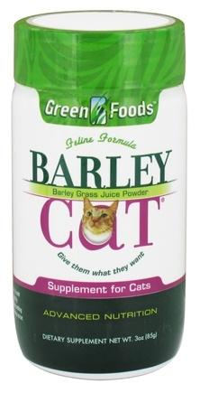 Green Foods - Barley Cat - 3 oz.