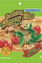 DROPPED: Nature's Answer - Soothing Slippery Elm Herbal Drops - 20 Lozenges
