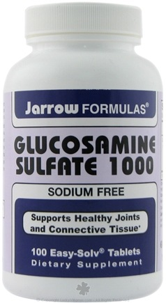 DROPPED: Jarrow Formulas - Glucosamine Sulfate 1000 - 100 Tablets CLEARANCE PRICED