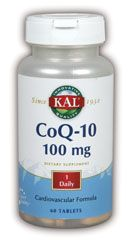 DROPPED: Kal - CoQ-10 100 mg. - 60 Tablets