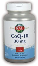 DROPPED: Kal - CoQ-10 30 mg. - 90 Softgels
