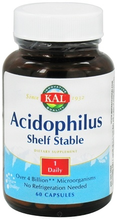 DROPPED: Kal - Acidophilus Shelf Stable - 60 Capsules CLEARANCE PRICED