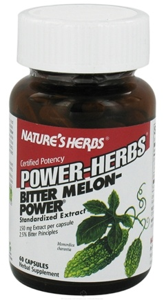 DROPPED: Nature's Herbs - Bitter Melon-Power - 60 Capsules