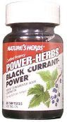 DROPPED: Nature's Herbs - Black Currant-Power - 60 Softgels