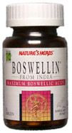 DROPPED: Nature's Herbs - Boswellin - 50 Tablets