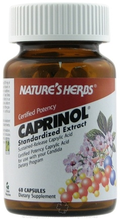 DROPPED: Nature's Herbs - Caprinol - 60 Capsules