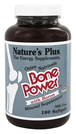 Nature's Plus - Bone Power - 180 Softgels