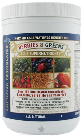 DROPPED: Nature's Benefit - Physician Formulated Berries & Greens - 500 Grams