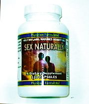 DROPPED: Nature's Benefit - Holt MD Labs Sex Naturally - 120 Capsules