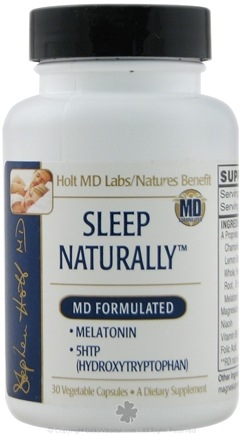DROPPED: Nature's Benefit - Sleep Naturally - 30 Vegetarian Capsules