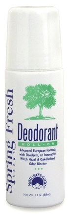 DROPPED: Nature's Gate - Deodorant Roll-On Spring Fresh - 3 oz.