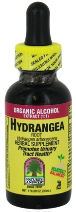 DROPPED: Nature's Answer - Hydrangea Root Organic Alcohol - 1 oz. CLEARANCED PRICED