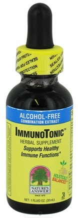 DROPPED: Nature's Answer - Immunotonic Alcohol Free - 1 oz. CLEARANCE PRICED