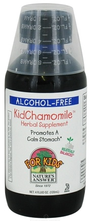 DROPPED: Nature's Answer - Kid Chamomile - 4 oz. CLEARANCE PRICED