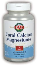 DROPPED: Kal - Coral Calcium Magnesium + - 90 Tablets
