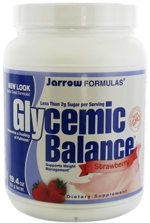 DROPPED: Jarrow Formulas - Glycemic Balance Strawberry - 19.4 oz.