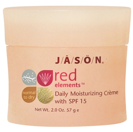 DROPPED: Jason Natural Products - Moisturizing Creme Red Elements Daily 15 SPF - 2 oz. CLEARANCE PRICED