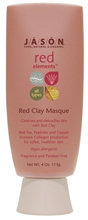 DROPPED: Jason Natural Products - Red Clay Masque Red Elements - 4 oz. CLEARANCE PRICED