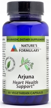 DROPPED: Nature's Formulary - Arjuna - 50 Vegetarian Capsules