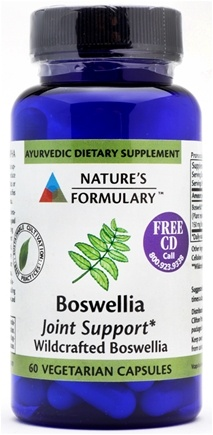 DROPPED: Nature's Formulary - Boswellia - 60 Tablets CLEARANCE PRICED