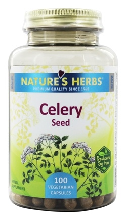 Nature's Herbs - Celery Seed - 100 Capsules