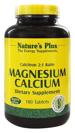 Nature's Plus - Calcitron 2:1 Ratio Magnesium to Calcium - 180 Tablets